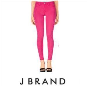 J Brand Shocker pink skinny jeans size 25